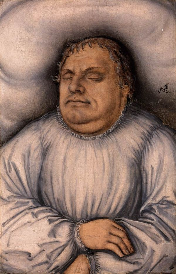 Krankenakte Luther Hamburger Reformation