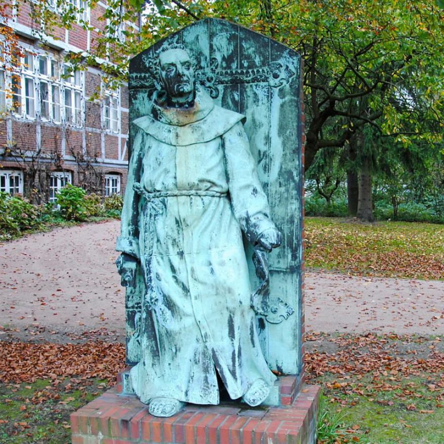 Das Lutherdenkmal. (Foto: Michael Ostendorf)