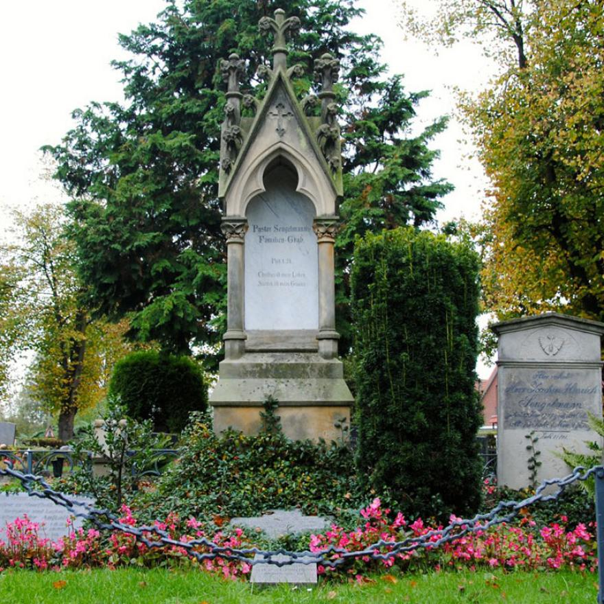 Grab der Familie Sengelmann. (Foto: Michael Ostendorf)