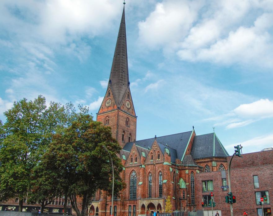 Hauptkirche St Petri Hamburg