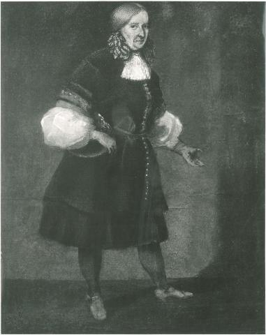 Portrait Königin Christina von Schweden, unbekannter Künstler, Ölgemälde 1667 (Quelle: Staatsarchiv Hamburg, Inv.-Nr. 720-01/215 Ch 246)